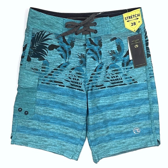 e2955cef54 Ocean Current Swim | Tropical Tech Board Shorts Size 28 | Poshmark